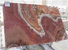 Onice Orange Onyx Slab,Red Onyx Polished Tiles for Hotel Wall Decoration