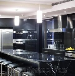 Nero Marquina Marble Kitchen Countertops Black Marble
