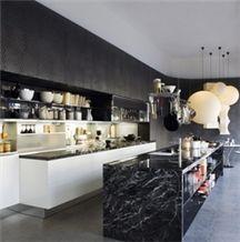 Nero Marquina Marble Kitchen Countertops Black Marble