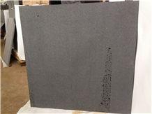 Hainan Black Basalt Sawn 400 Grit Tiles, Sawn 400 Grit with Cats Paws Tiles, China Black Basalt Floor Tiles, Black Basalt Walling & Flooring Sawn 400 Grit Tiles
