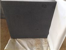 Hainan Black Basalt Sawn 400 Grit Wth Cats Paws Tiles, 400 Grit with Cats Paws Tiles, China Black Basalt Floor Tiles, Black Basalt Walling & Flooring Sawn 400 Grit Tiles