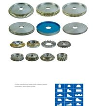 Sonmak Sintered and Electro Plated Profiling Wheels