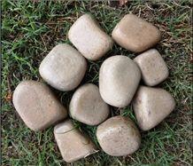 Dholpur Beige Sandstone Pebbles & gravels