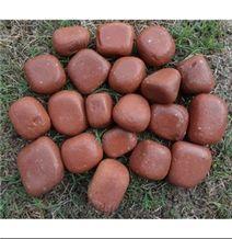 red sandstone pebbles & gravels