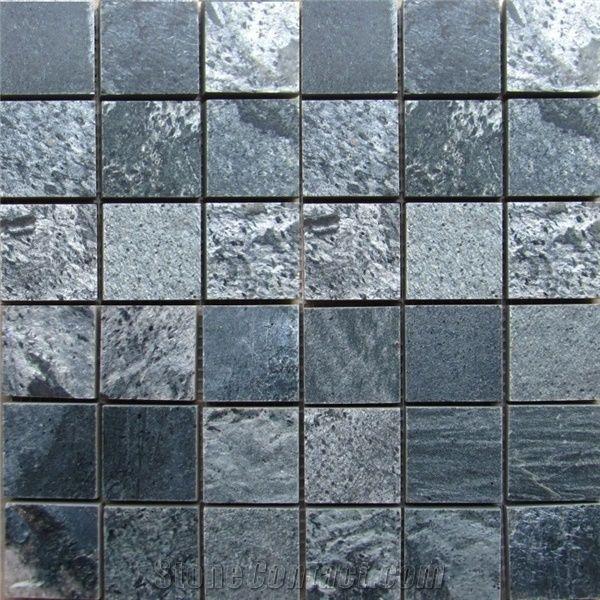 Silver Grey Slate Stone Mosaic