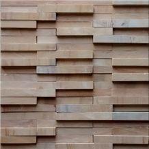 Teak Wood Sandstone ledge, yellow sandstone wall cladding, stacked stone veneer