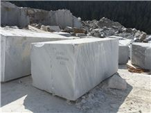 Mura Silver Moon Blocks, White Marble Blocks