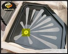 Solid Stone Shower Base Trays