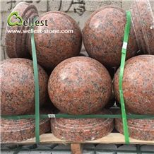 China Factory Natural Red Polished Granite Cheap Parking Stone