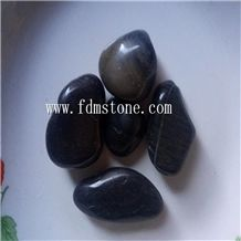 Black Landscaping and Garden Pebble Stone and Crushed Marble Stone Chips,Aquarium Gravel