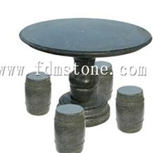 Cheap Granite Outdoor Garden Stone Table and Chair