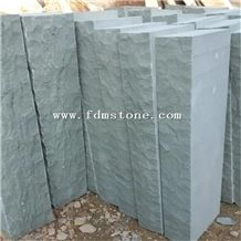 China Wholesale Green Outside Paving Sandstone Prices,Garden Palisade,Retaining Wall