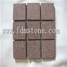 Flamed Red Porphyry Stone for Floor Paver Tile