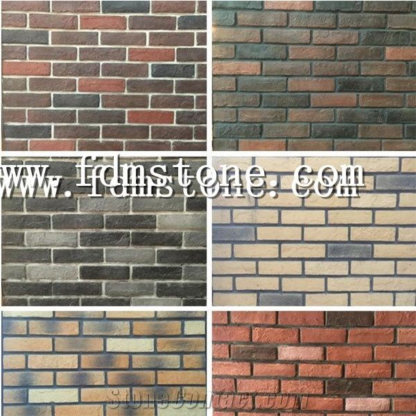 clay brick modern house