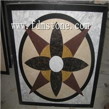 Floor Marble Pattern/Mosaic Medallion