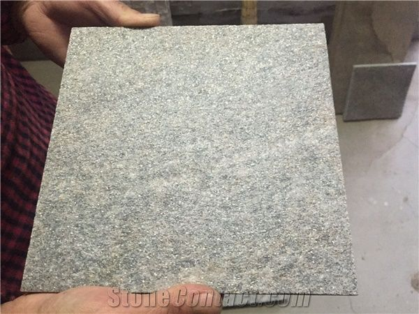 Green Quartzite Floor Tileswall Tilesflamed Quartzite Pavers For