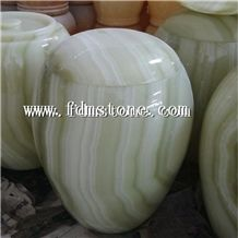 Hot New Products Natural Onyx Stone Tombstone Urns