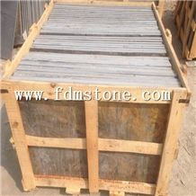 Natural Rusty Color Stone Slate Pool Bullnose,Flamed Slate Tiles,Natural Split Slate Paving Tiles