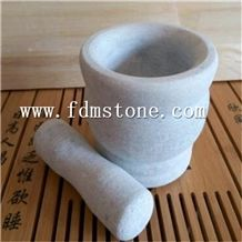 Natural Stone Garlic A Mortar Cookware Mortar Pestle