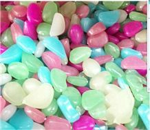 Night Glow Stones Colorful Gems Pebble
