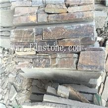 Oyster Cement Slate Back Wall Stone Cultured Stone