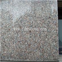 Qilu Red Granite G354 Polished Tiles & Slabs, China Red Granite