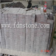 Red Porphyry Mesh Paver with Good Prices