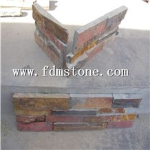Rusty Color Cultured Stone Veneer Panel Sale Prices,Slate Stone Corner,Ledger Stone Corner, Ledged Stone Siding,Ledge Stone Facade,Ledge Stacked Stone Veneer,Ledge Stone Panels,Ledge Wall Cladding