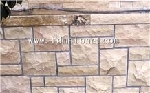 Sandstone Wall French Pattern,Garden Wall Decortation