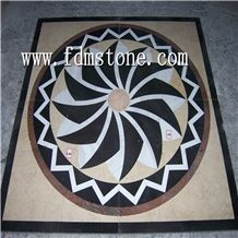 Surface Polished Water Jet Marble Pattern