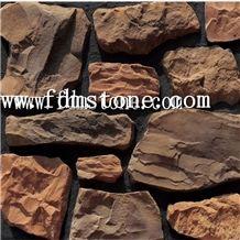 Terra Red Slate Flexible Ultra Thin Stone Veneer