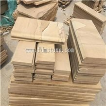 Yellow Sandstone Stairs & Steps Good Price,300x300mm,600x300mm,600x600mm