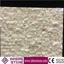 China Beige Color Decoration Cultured Stone Wall Panel