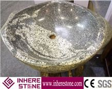 Natural Stone Water Wash Basin Sink with Top Quality and Design