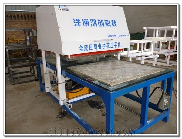 Hydraulic Marble Mosaic Ceramic Floor Tile Press Machine From China