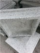 Direct Supply Of G603 Light Grey Granite Pillar Caps, Winggreen Stone