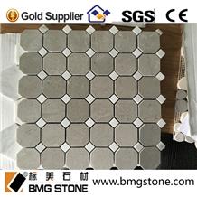 Cinderella Grey Marble Mosaic Shay Grey Mosaic