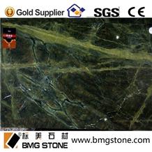 Lotus Green Granite Slab for Flooring Wall Tiles