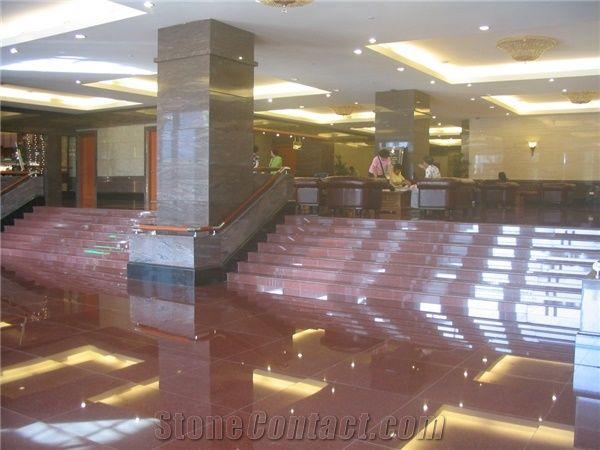 Tj Imperial Red Granite Stair Imperial Red Granite Stair