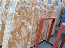 Dubai Gold Marble Tiles & Slabs, Viet Nam Yellow Marble