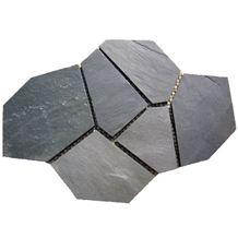Black Rustic Slate Flag Stone Floor Covering Paving