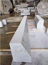 New G623 China Grey Granite Crystal Grey Rosa Beta Bianco Sardo Baso White Bianco Cordo Sardinia Granite Kerbstone Road Stone