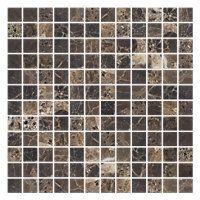 Emperador Marble Mosaic