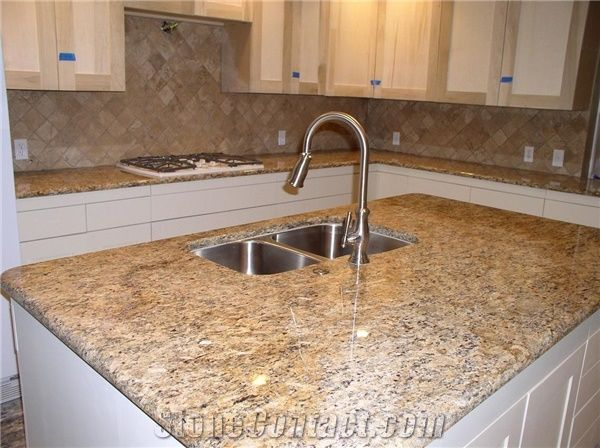 Brazil Santa Cecilia Light Granite Countertop Worktop Kitchen
