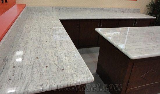 River White Granite Countertop Worktop Kitchen Custom