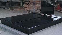 Premium Black Granite Monument