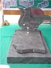 China New Style Grey Granite Tombstone & Headstone