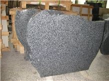 Dark Grey Granite G654 Tombstone & Headstone