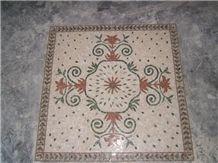 Light Emperador Marble Mosaic Patterns for Walls