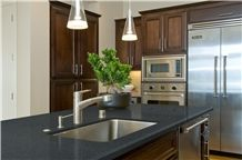 Quartz Stone Kitchen Countertop Black Quartz Stone Kitchen Island Tops